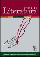 Portada de Revista de Literatura